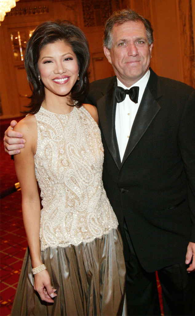 Leslie Moonves, Les Moonves, Julie Chen, 2004