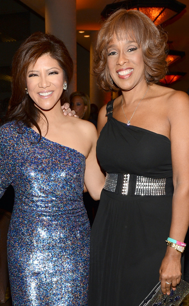 Julie Chen, Gayle King