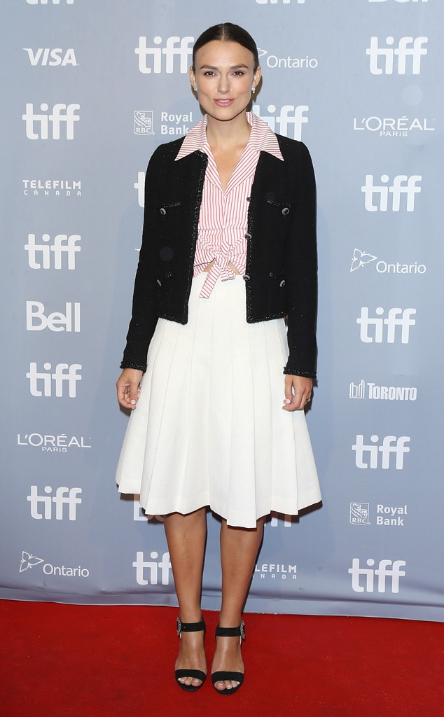 Keira Knightley, 2018 Toronto Film Festival, TIFF