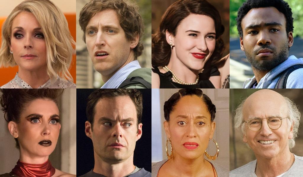 2018, Emmy Awards, Splits