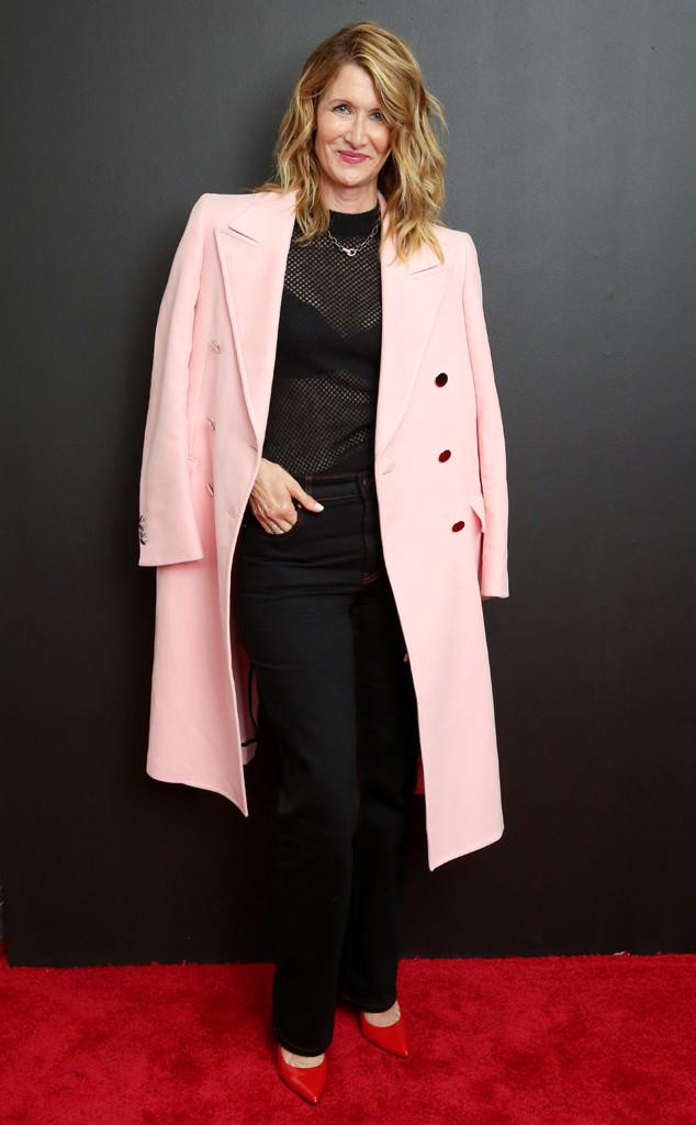Laura Dern, NYFW, Calvin Klein