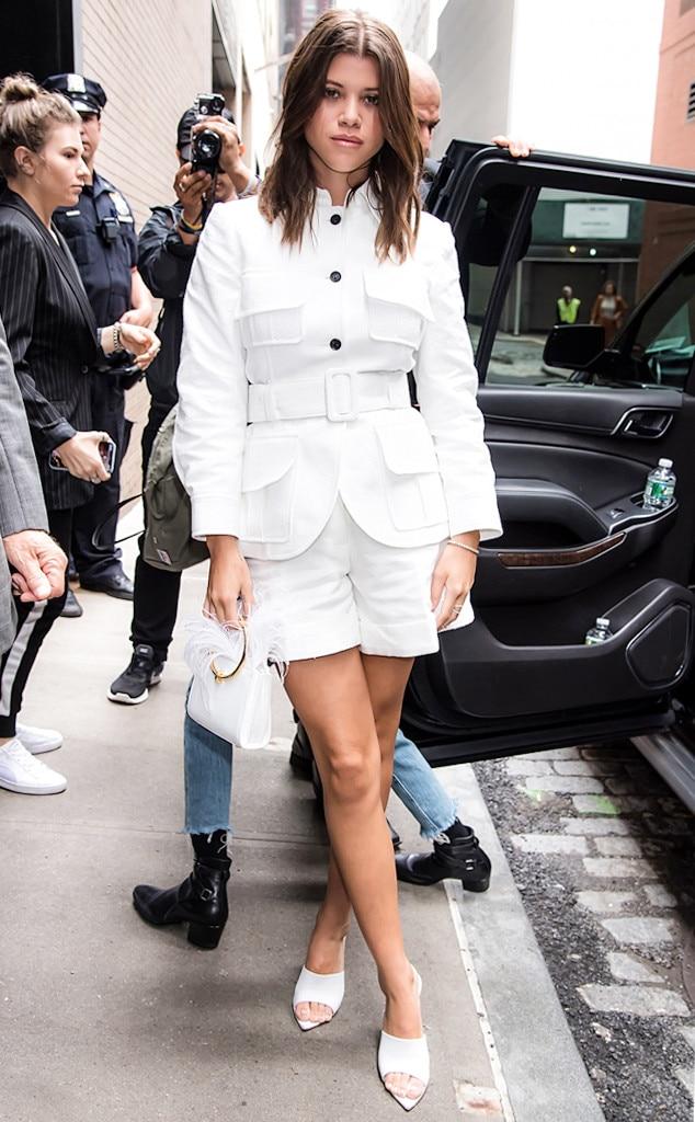 ESC: NYFW Street Style, Sofia Richie