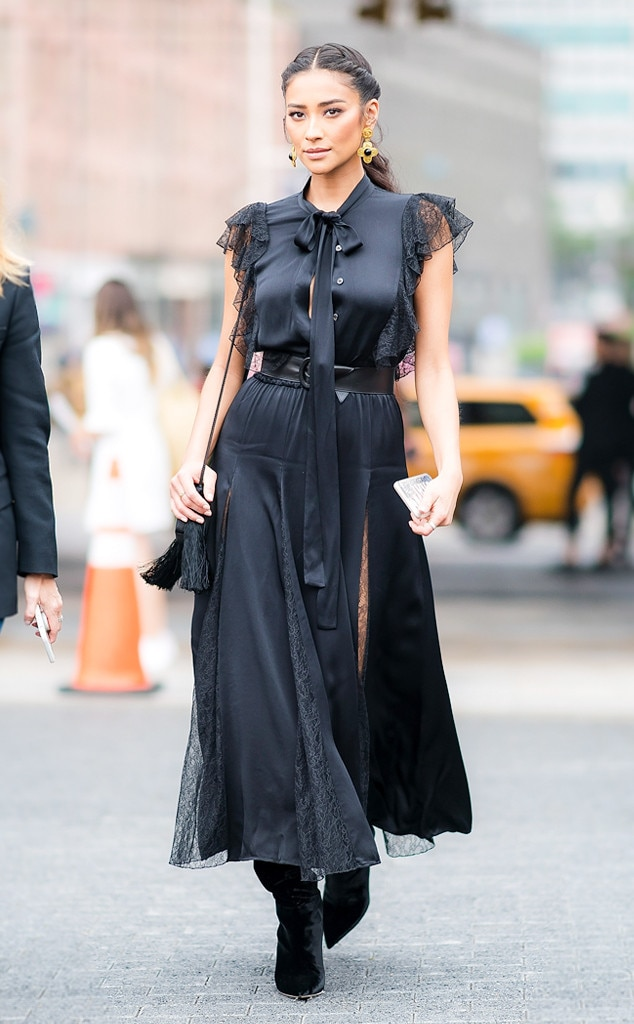 Anna Kendrick from Best Celeb Street Style From New York