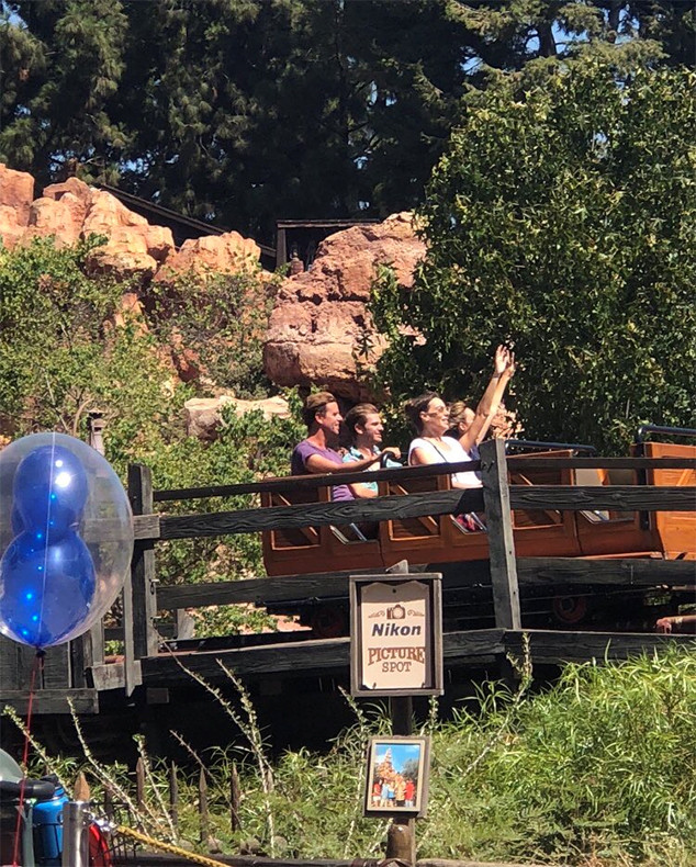 Andrew Garfield, Susie Abromeit, Friends, Disneyland