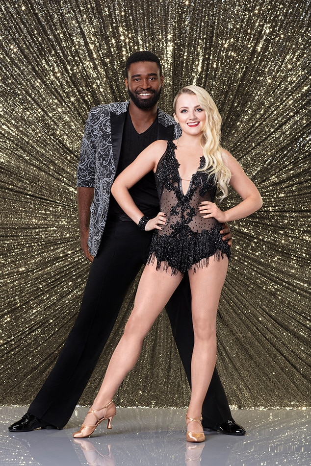 """Evanna Lynch - Harry Potter  star  Evanna Lynch  and pro partner  Keo Motsepe  have been bewitching the judges with their dance moves. The duo got a 29 out of 30 for their dance to """"Disturbia"""" by  Rihanna ."""