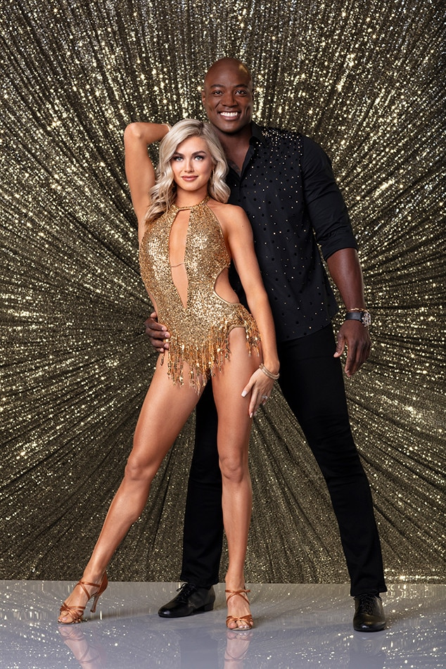 DeMarcus Ware -  Former footballer  DeMarcus Ware  and  Lindsay Arnold  are steady performers on the dance floor, but have yet to crack a perfect score.