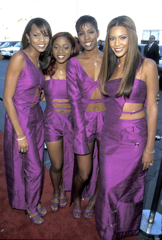 Destiny's Child, LeToya Luckett, LaTavia Robertson, Kelly Rowland, Beyonce Knowles