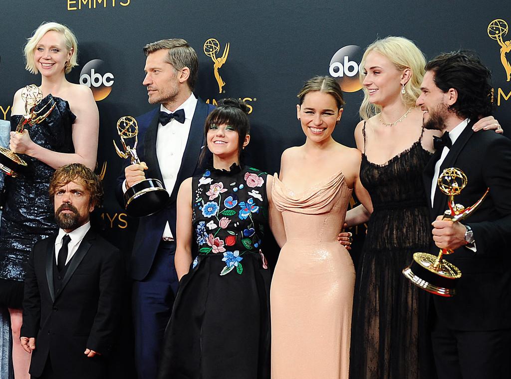 ESC: Game of Thrones, Gwendoline Christie, Maisie Williams, Emilia Clarke, Sophie Turner