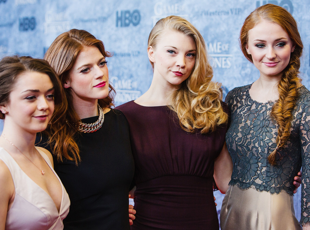 ESC: Maisie Williams, Rose Leslie, Natalie Dormer and Sophie Turner