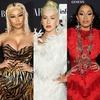 Nicki Minaj, Christina Aguilera, Cardi B, Harper's BAZAAR ICONS Party