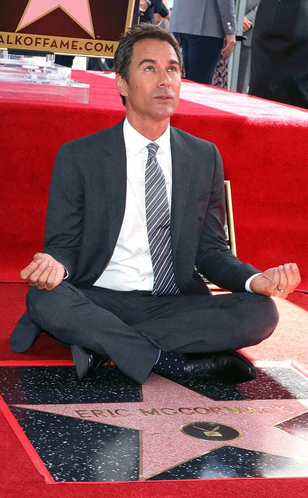 Eric McCormack, Hollywood Walk of Fame