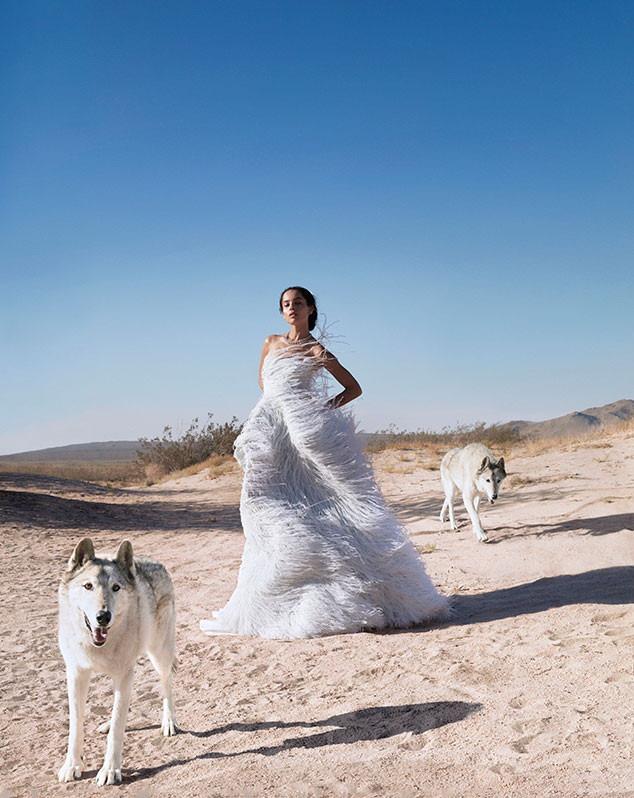 Zoe Kravitz, Harper's Bazaar, October 2018