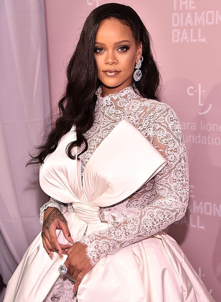 Rihanna, NYFW Sightings