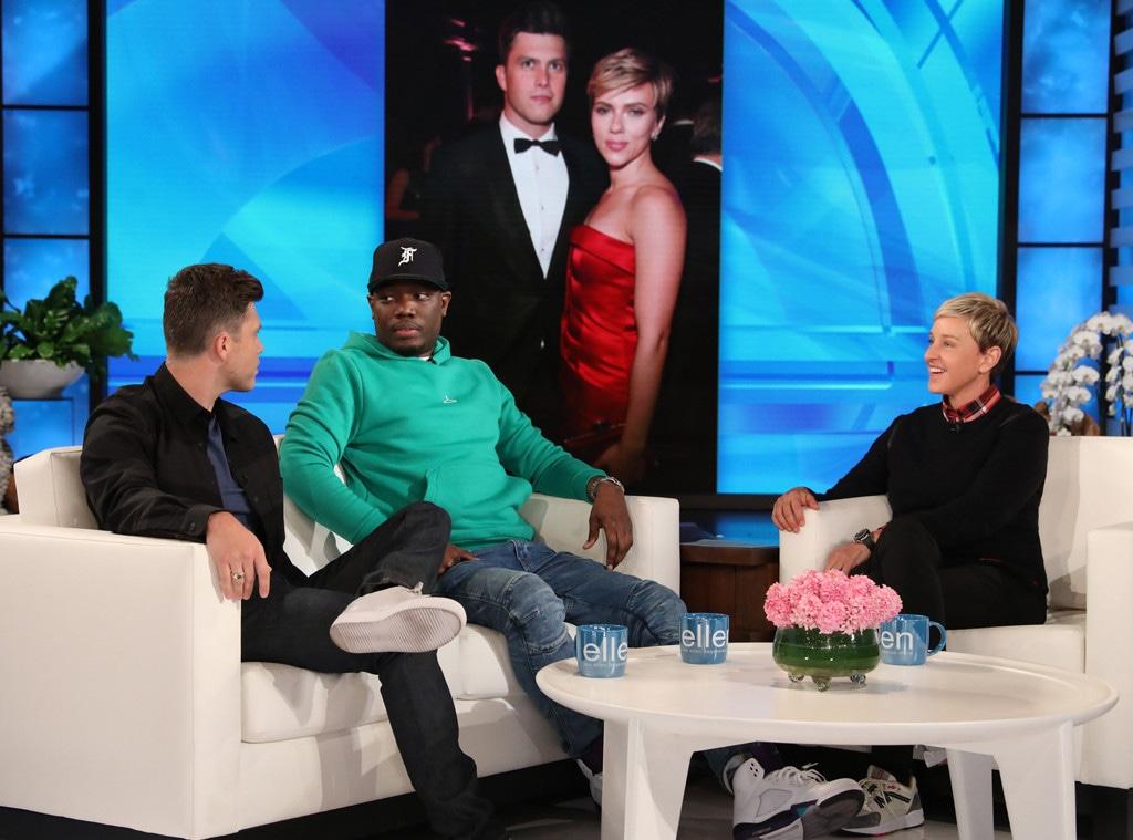 Colin Jost, Michael Che, The Ellen DeGeneres Show