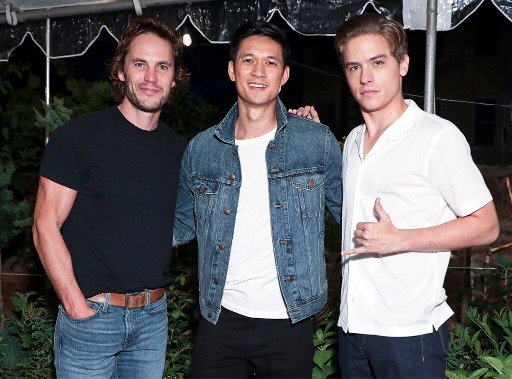Taylor Kitsch, Harry Shum Jr., Dylan Sprouse