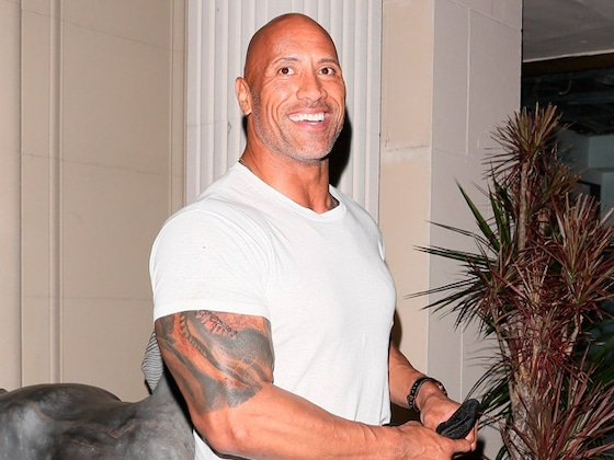 Dwayne Johnson Is Rocking a Sweet New Look Thanks to His Baby Girl