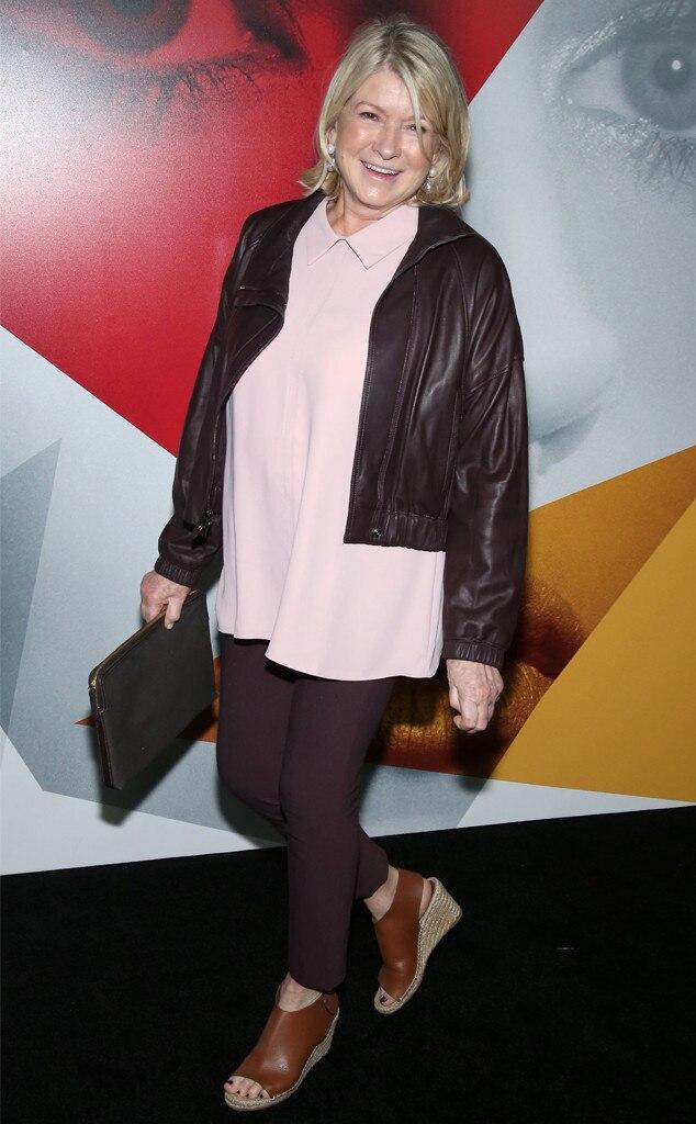 Martha Stewart, NYFW Sightings