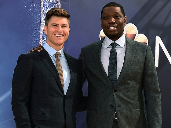Colin Jost and Michael Che's Best Moments Hosting the 2018 Emmys