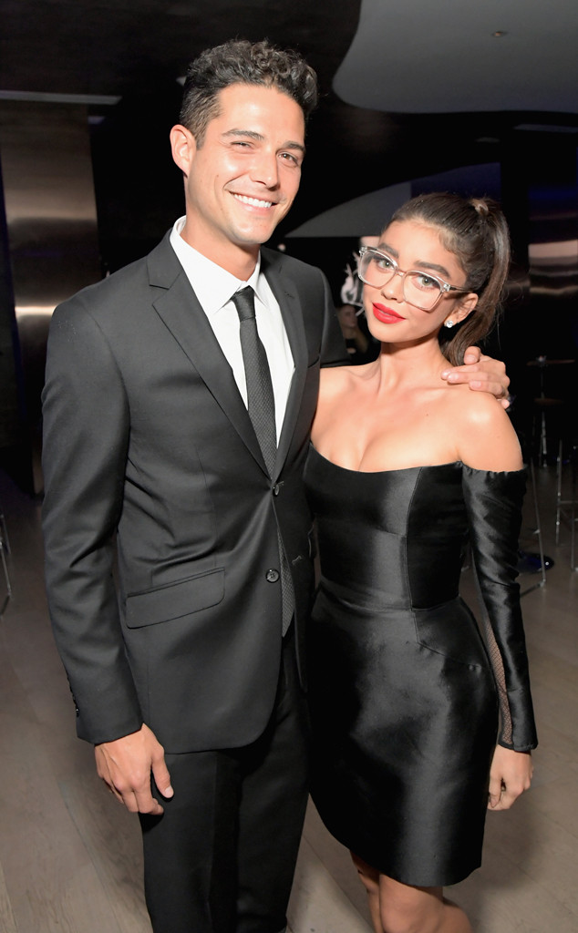 Wells Adams, Sarah Hyland, Pre-Emmys 2018, Party