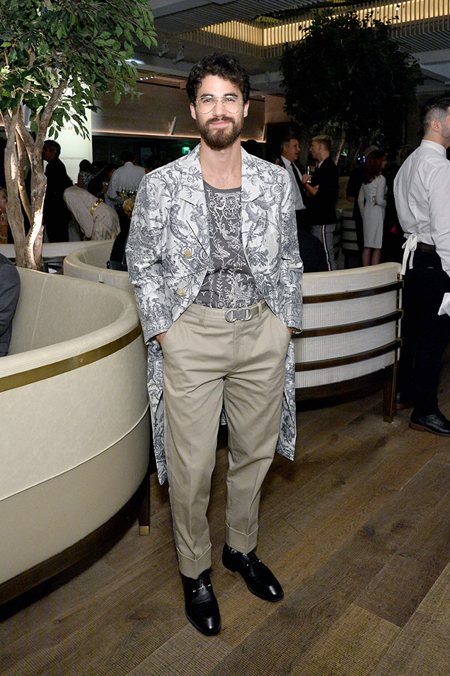 Darren Criss, Pre-Emmys 2018, Party