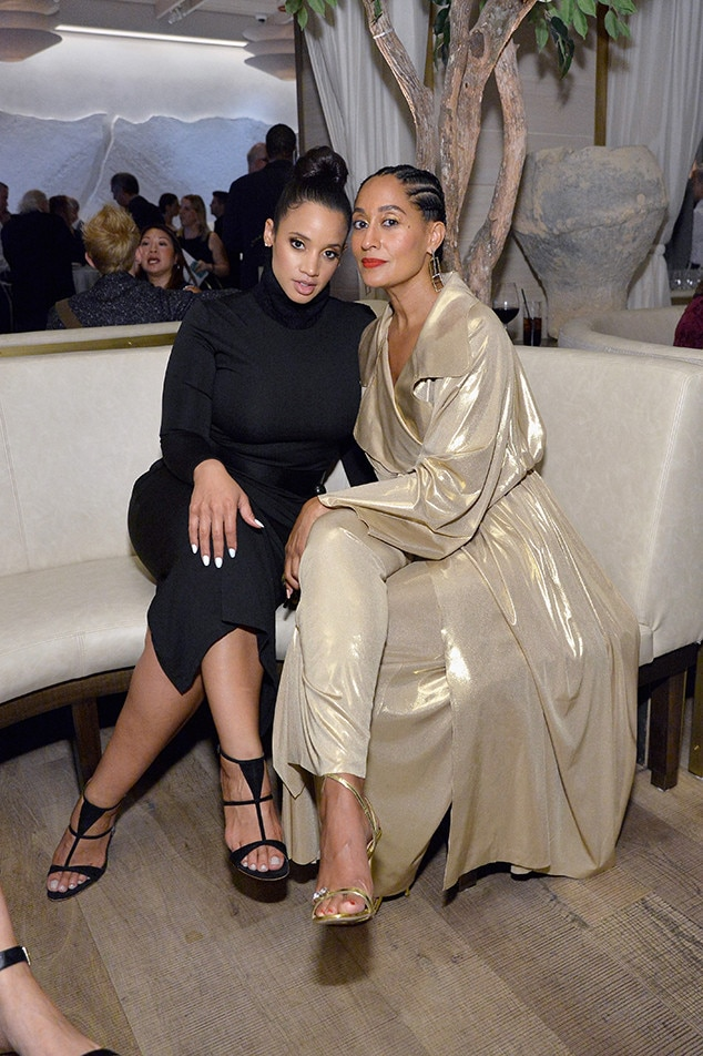 Dascha Polanco and Tracee Ellis Ross -  The  Orange Is the New Black  star hangs out with the  black-ish  actress.