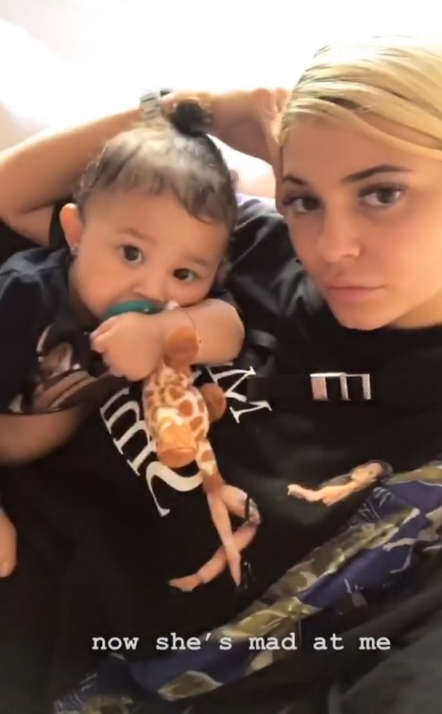 Kylie Jenner, Stormi Webster, Nap, Instagram