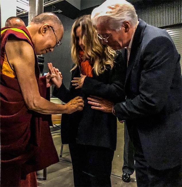 Richard Gere, Wife, Alejandra, Pregnant, Dalai Lama
