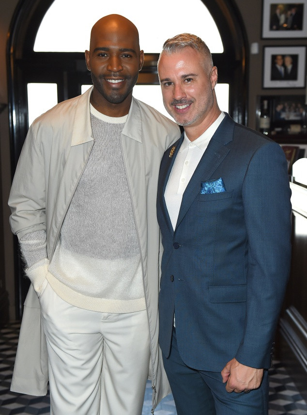 Karamo Brown, Ian Jordan, 2018 Pre-Emmys Party