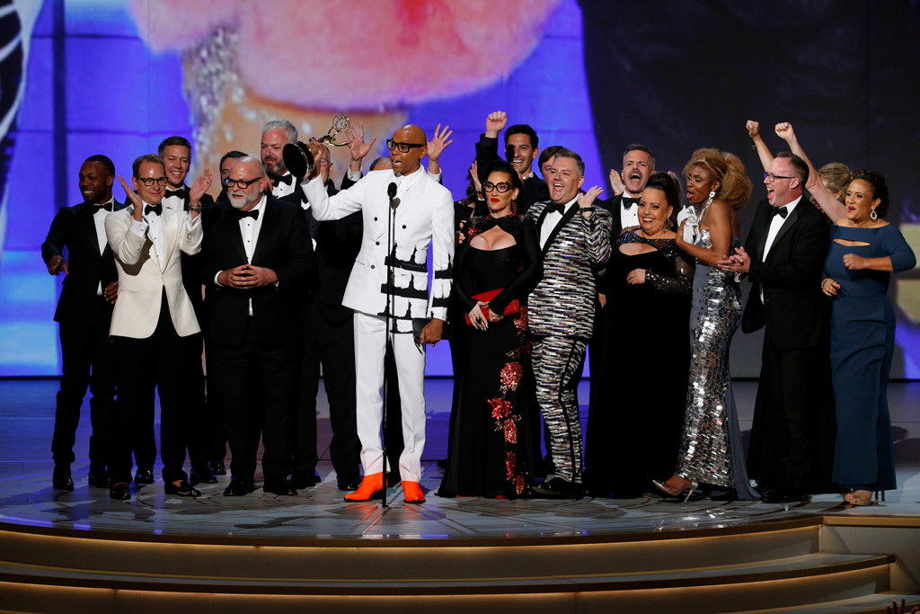 RuPaul, 2018 Emmys, 2018 Emmy Awards, Winners