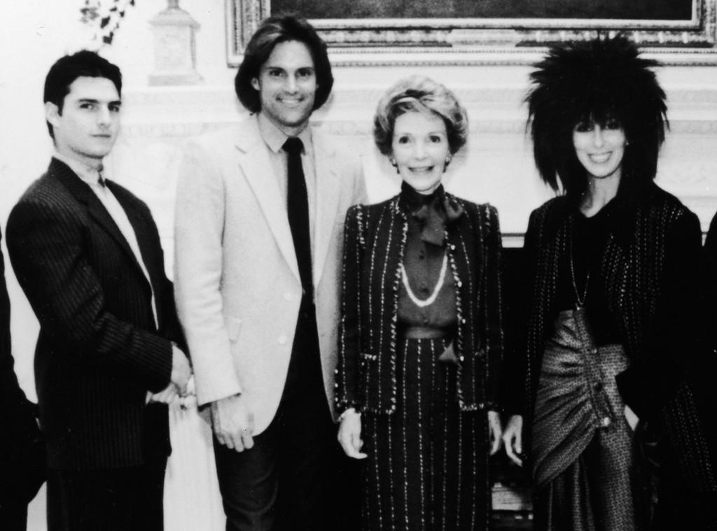 Tom Cruise, Bruce Jenner, Nancy Reagan, Cher