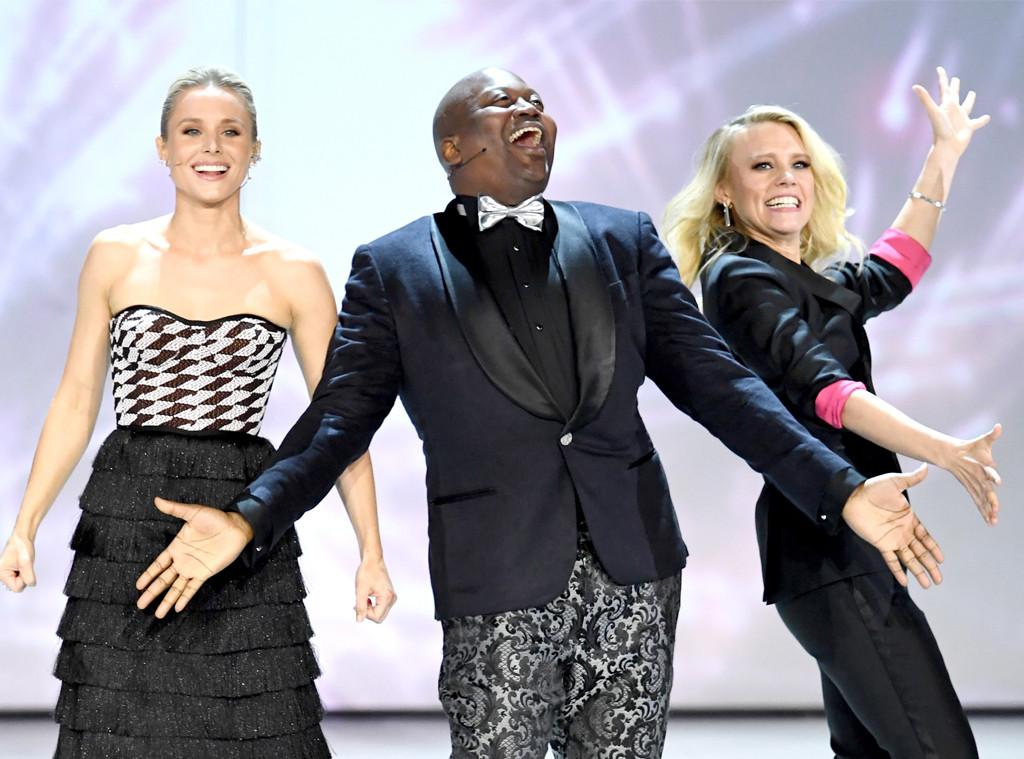 Kristen Bell, Tituss Burgess, Kate McKinnon, 2018 Emmy Awards, Opening Act