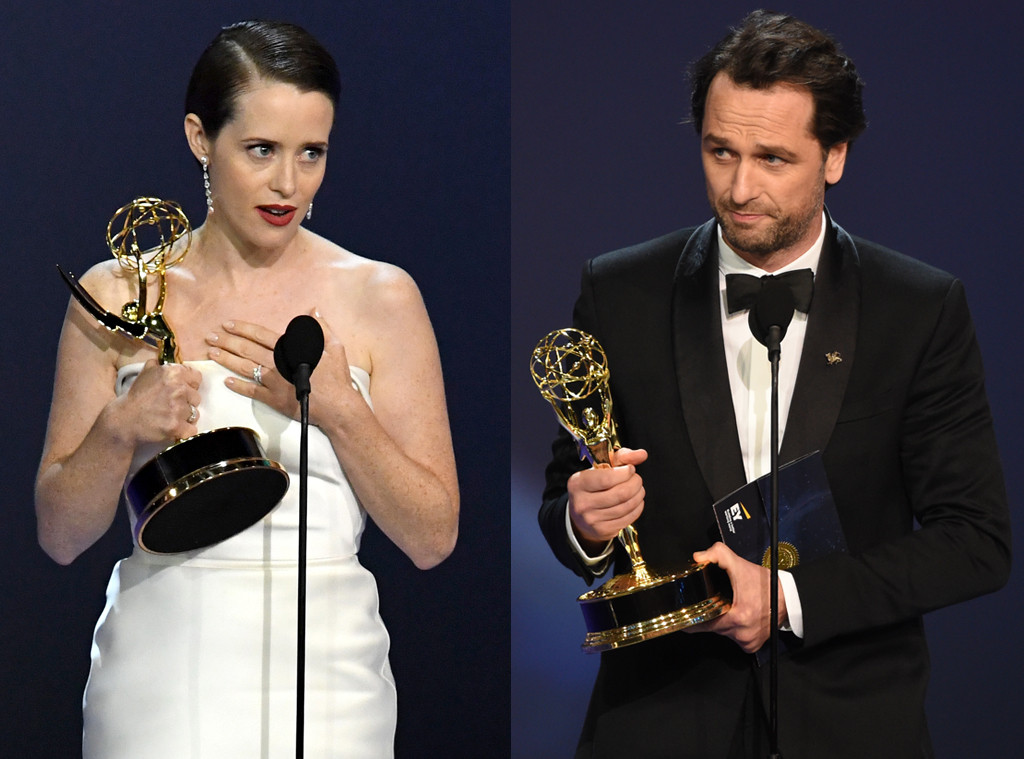 Claire Foy, Matthew Rhys, 2018 Emmys, 2018 Emmy Awards, Winners