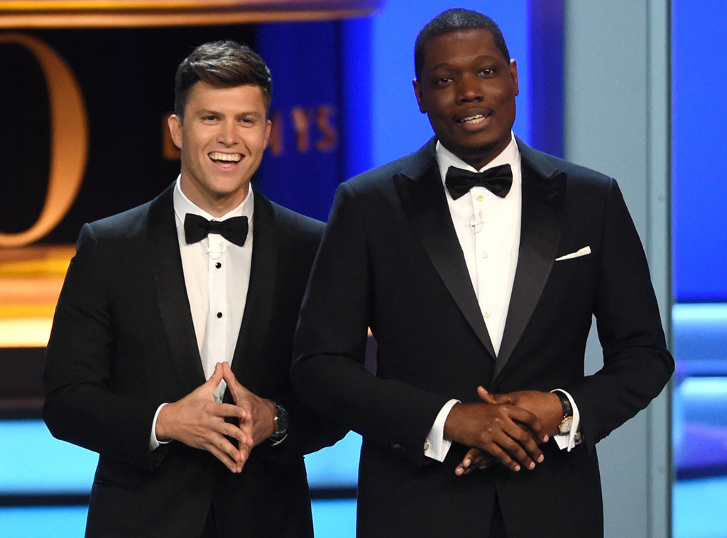 Inside Colin Jost and Michael Che's Star-Studded Emmys After-Party
