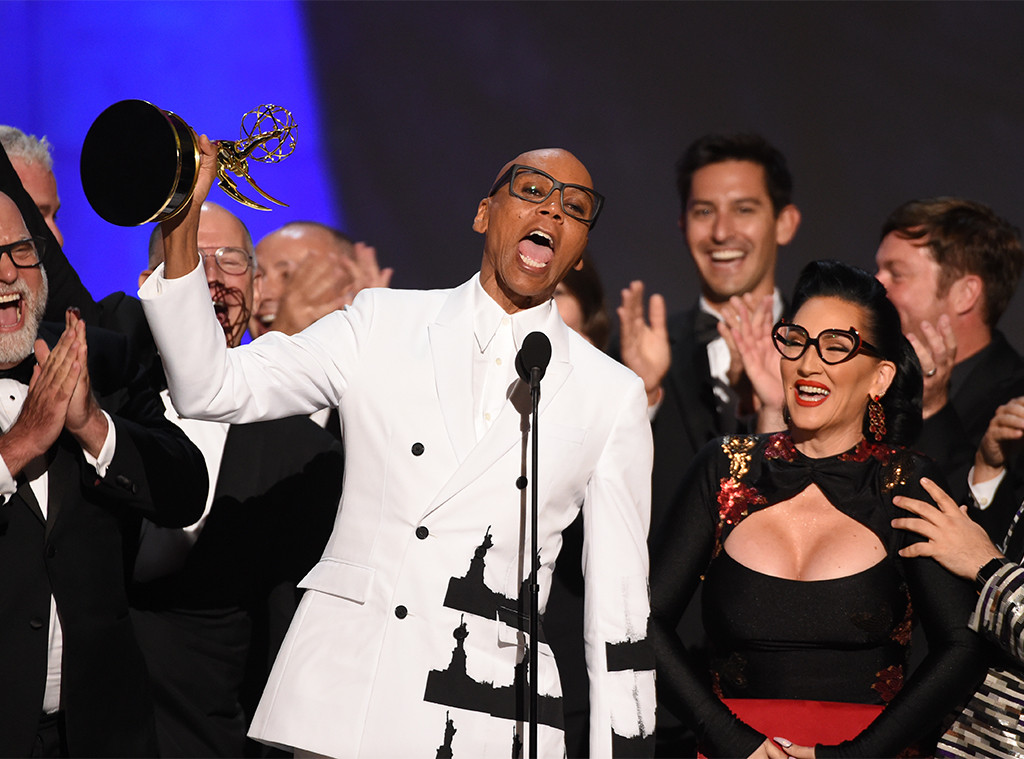RuPaul, 2018 Emmys, 2018 Emmy Awards, Winners