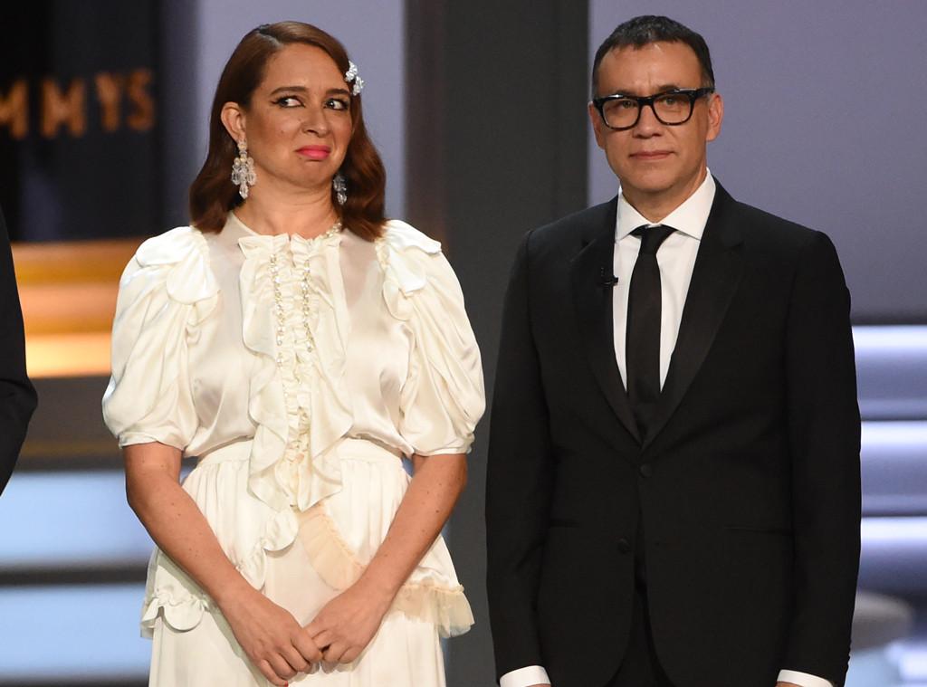 Maya Rudolph, Fred Armisen, 2018 Emmys, 2018 Emmy Awards, Show