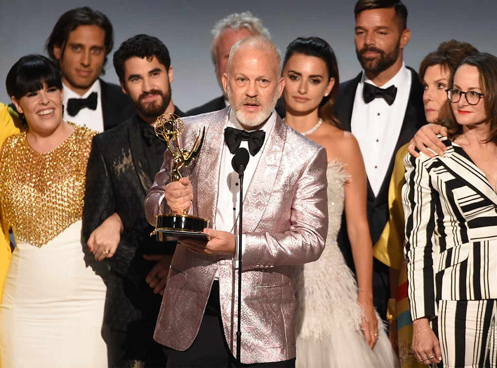 Ryan Murphy's New Home -  While the show is at Netflix, which is  Ryan Murphy 's new home, the show hails from his previous deal with Fox. Netflix handed out a two-season order to the political comedy.