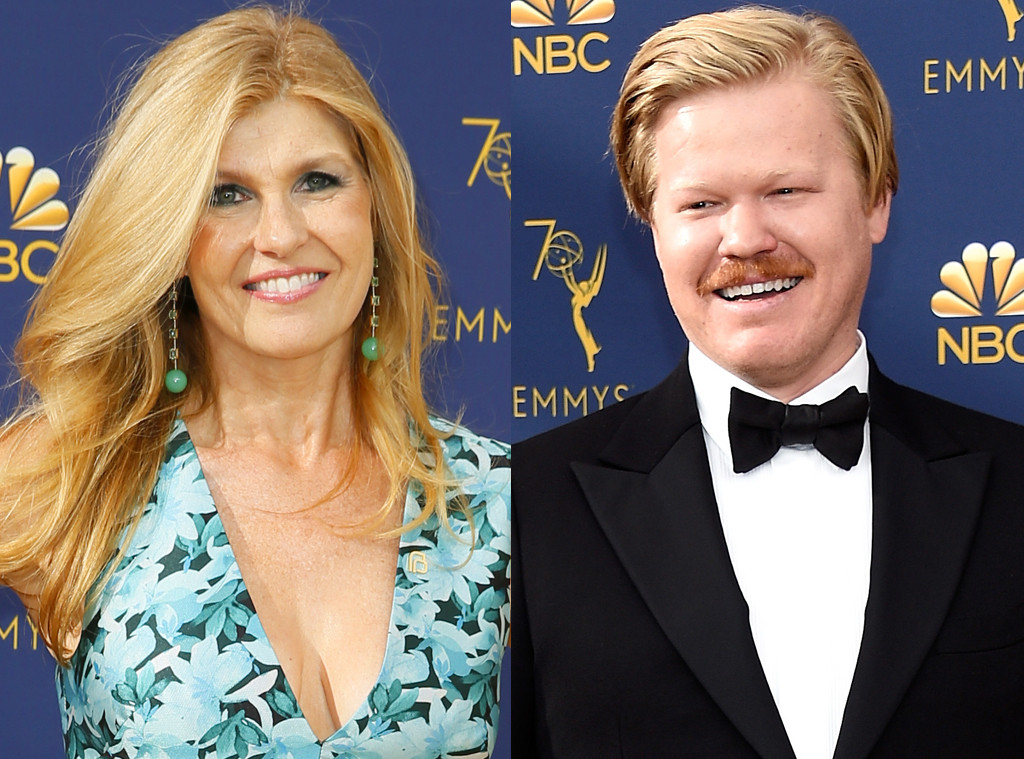 Connie Britton, Jesse Plemons, 2018 Emmy Awards, 2018 Emmys, Reunions