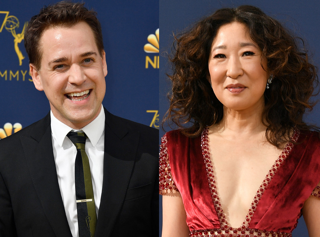 Sandra Oh, TR Knight, 2018 Emmy Awards, 2018 Emmys, Reunions
