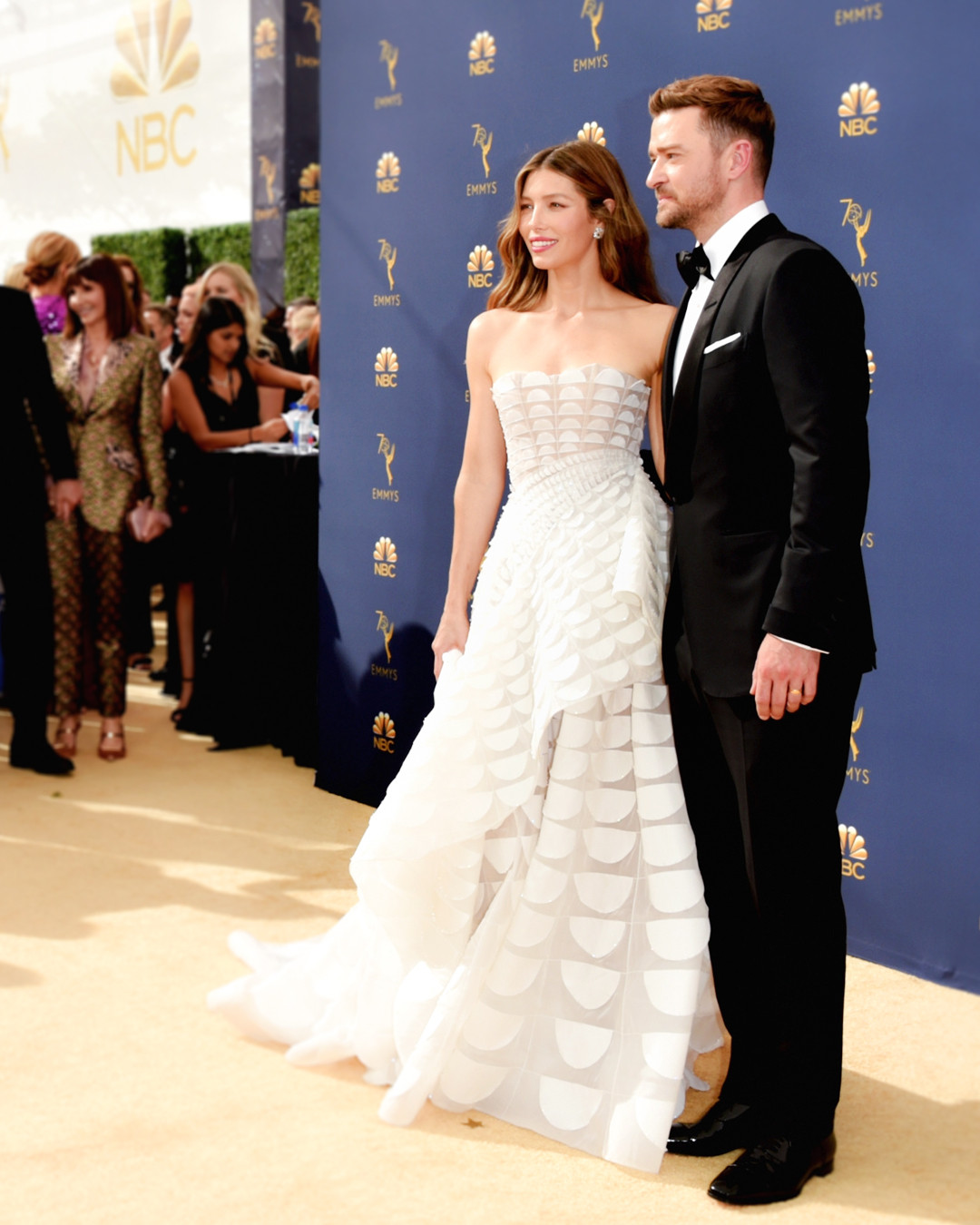 5450bf8b2547 The Emmys 2018 Red Carpet Has the Wedding Inspiration You Need | E! News