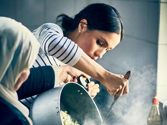 Meghan Markle participa de livro de culinária beneficente