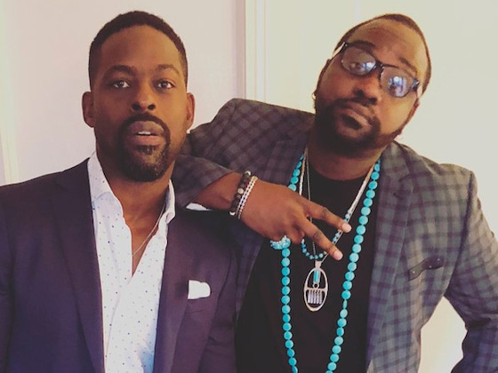Sterling K. Brown and Brian Tyree Henry Relive Their Glory Days at 2018 Emmys