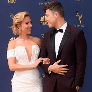 Scarlett Johansson, Colin Jost, 2018 Emmys, 2018 Emmy Awards, Couples