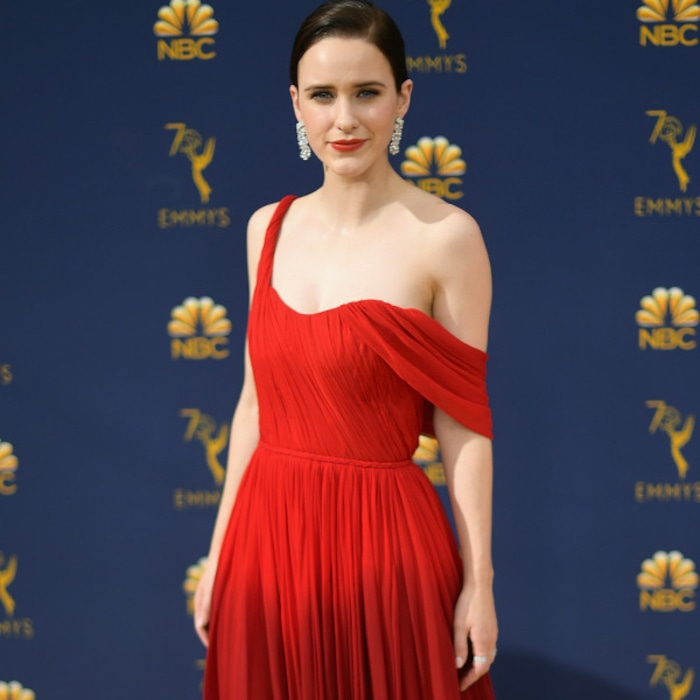 rachel brosnahan is a far cry from snowboard instructor past at the