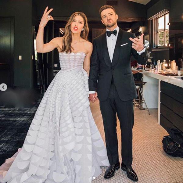 Jessica Biel, Justin Timberlake, 2018 Emmys