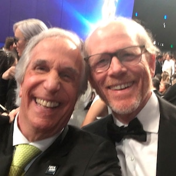 Henry Winkler, Ron Howard, 2018 Emmys