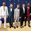 Jonathan Van Ness, Bobby Berk, Tan France, Antoni Porowski, Karamo Brown, 2018 Emmys, 2018 Emmy Awards