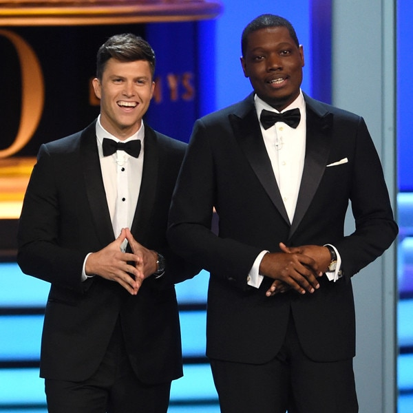 Colin Jost, Michael Che, 2018 Emmys, 2018 Emmy Awards, Show