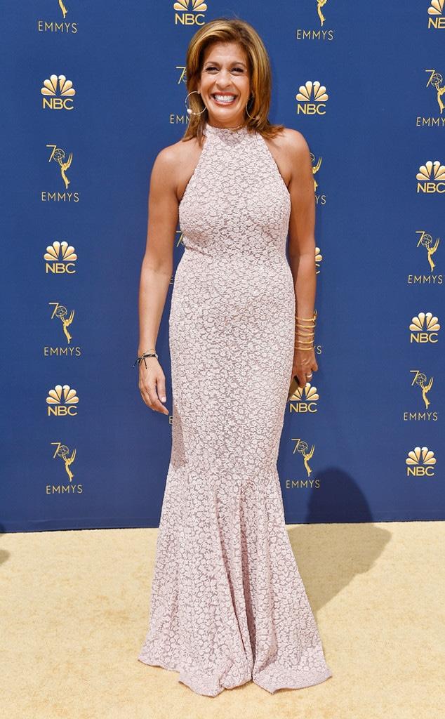 Hoda Kotb, 2018 Emmys, 2018 Emmy Awards, Red Carpet Fashions