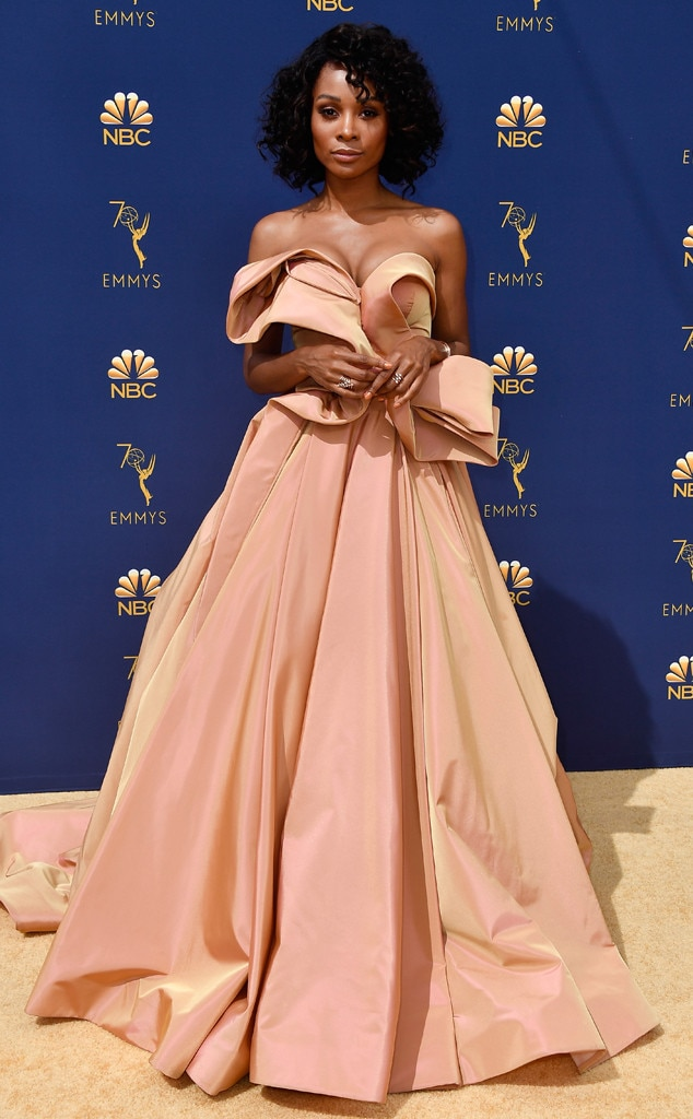 11b2bb5fb8b78 Mandy Moore from Best Dressed Stars at the Emmy Awards 2018 | E! News