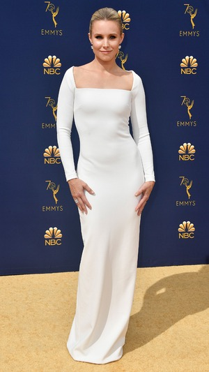 Kristen Bell, 2018 Emmys, 2018 Emmy Awards, Red Carpet Fashions